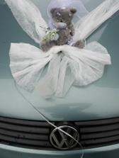 nevěsty autíčko