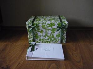 krabice na přání a kniha hostů - koupeno a vylepšeno