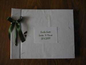 kniha hostů detail
