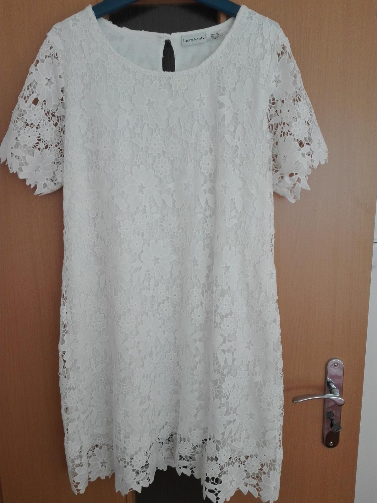 Krátké krajkové šaty - Obrázek č. 1