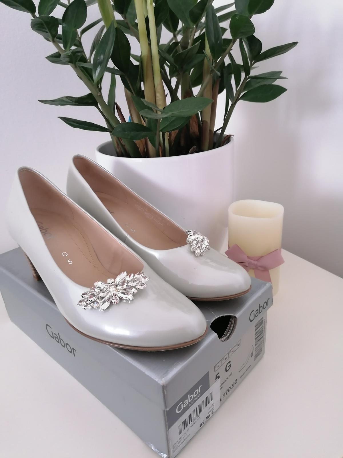 Svadobné topánky - Obrázok č. 4