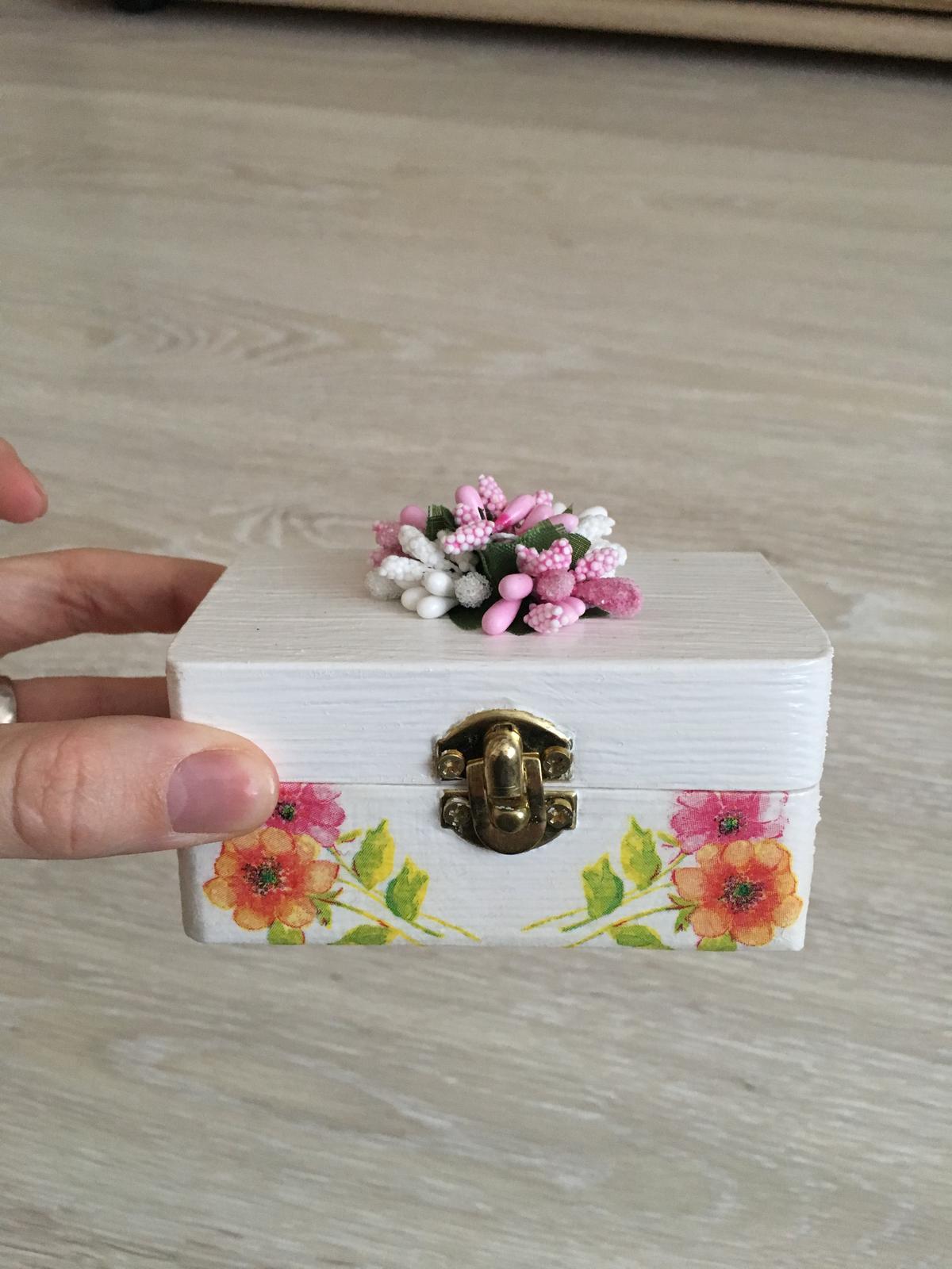 Krabička na prstene - Obrázok č. 1