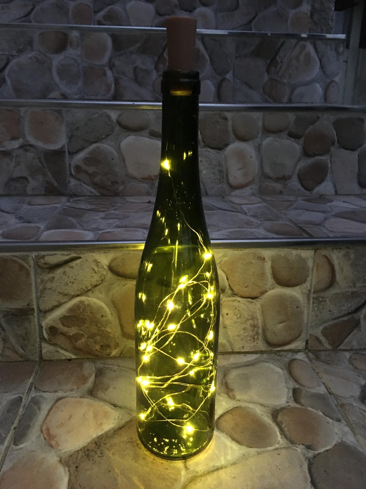 Světýlka do lahve vč. baterií - Obrázek č. 1