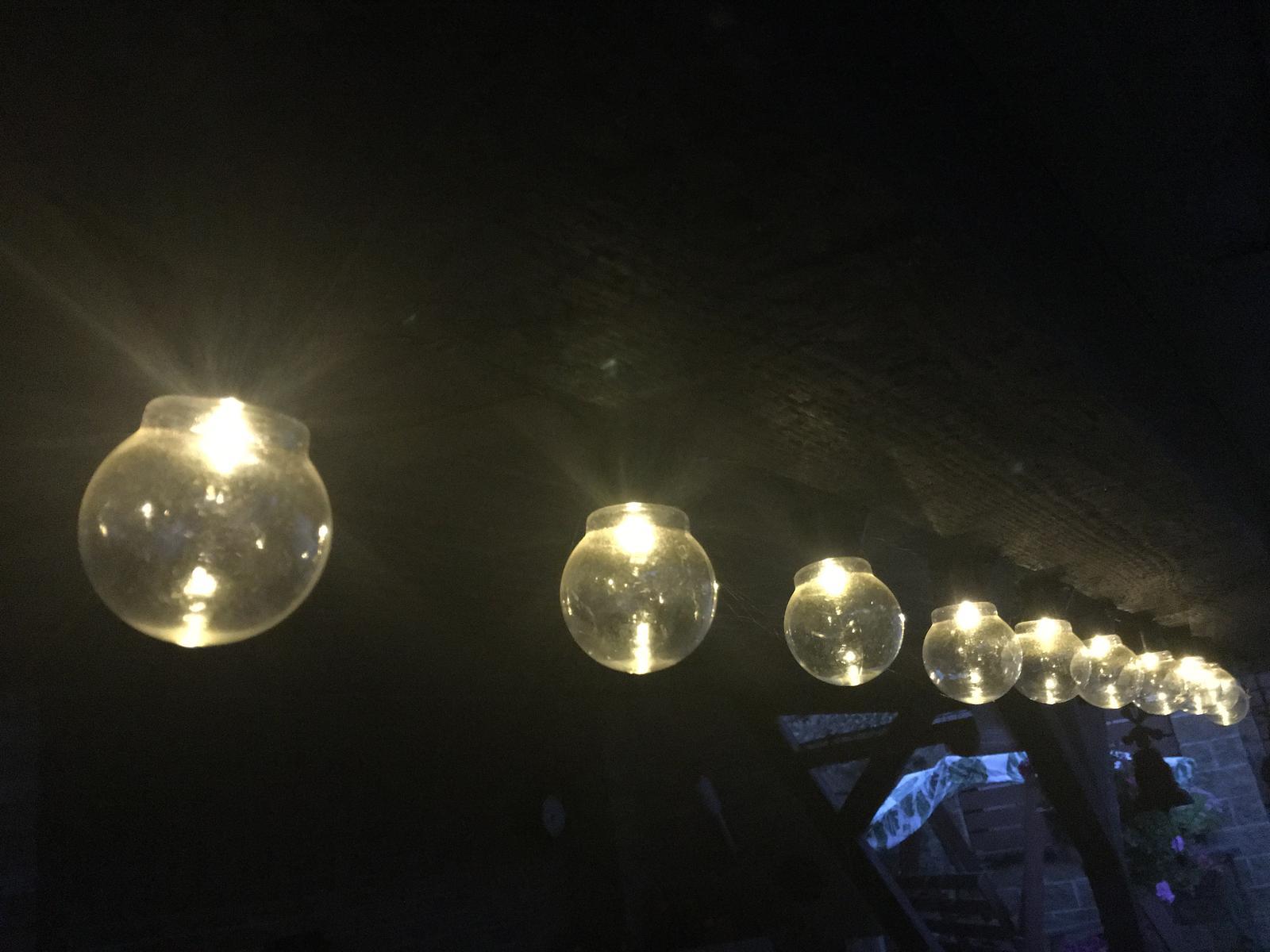 Světelný řetěz žárovky 11 m - Obrázek č. 1