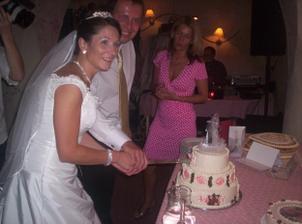 krájení dortů