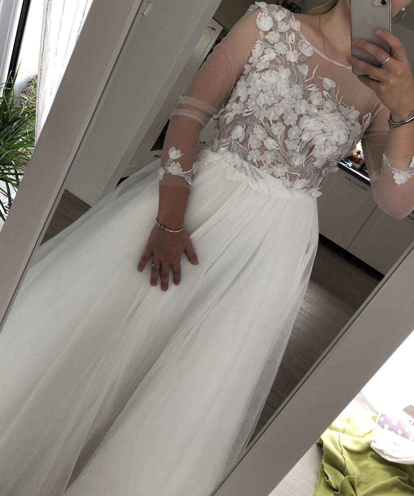Nenošené svatební šaty - Obrázek č. 3