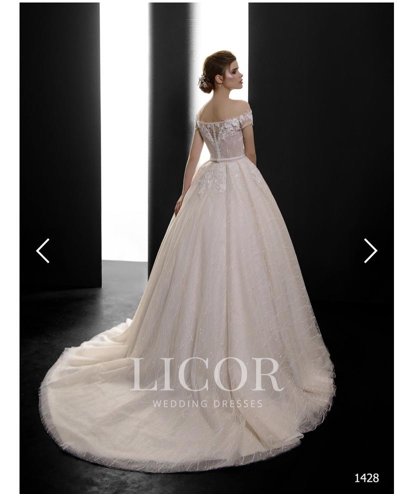 NOVÉ! Princeznovské svatební šaty LICOR - Obrázek č. 1