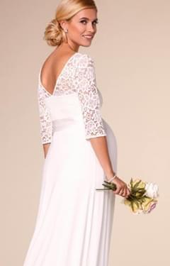Svatební těhotenské šaty - Obrázek č. 1