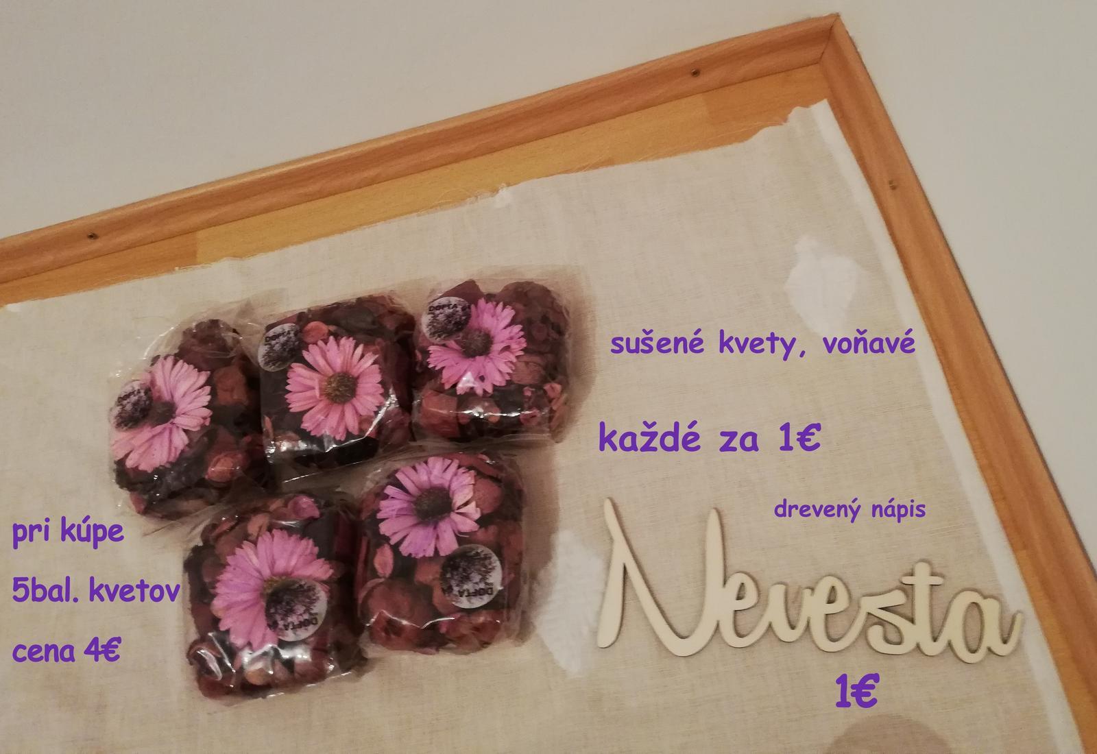 Sušené kvety - nové (voňavé) - Obrázok č. 1