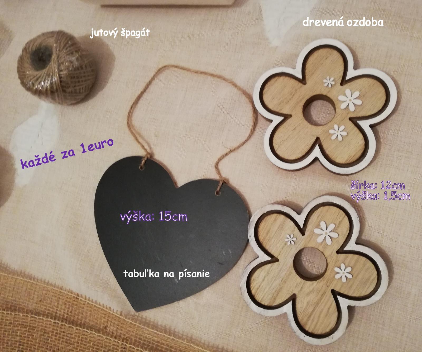 drevené srdiečka, tabuľkové srdce, papierové srdiečka - Obrázok č. 3