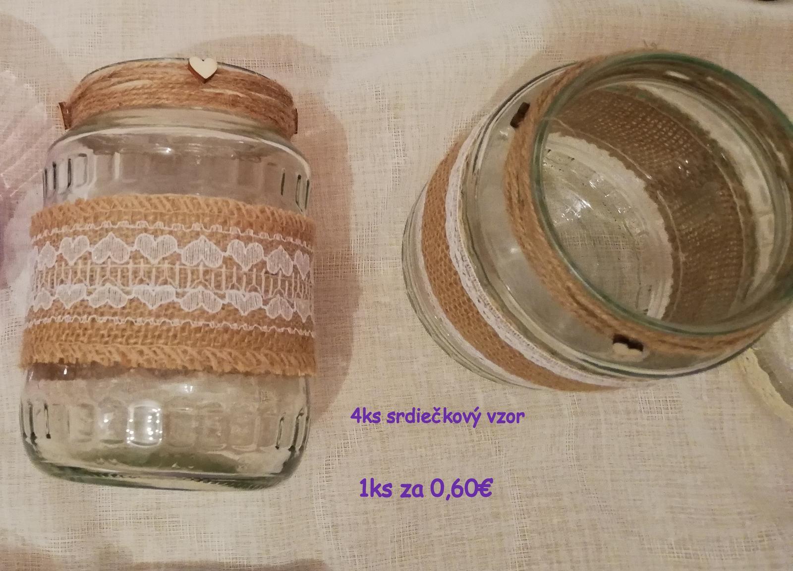 Svadobné dekorácie - fialová, ružová, ivory, juta - komplet - Obrázok č. 2