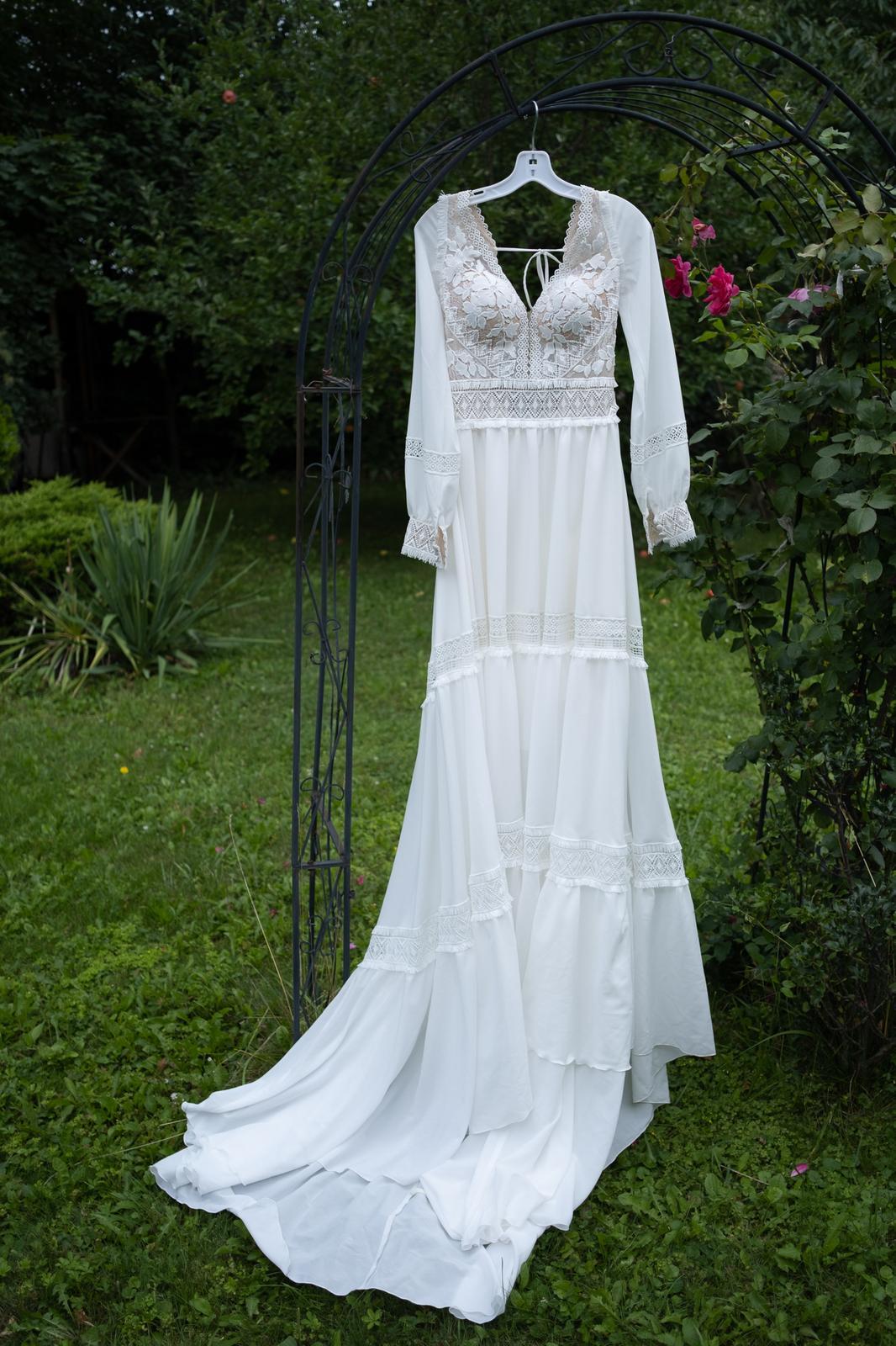 NOVÉ BOHO svatební šaty - Obrázek č. 1