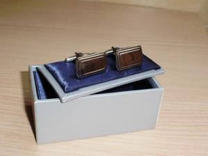manžetové knoflíčky pro ženicha