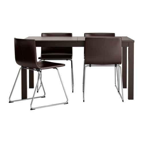 Moje představa o kuchyni - Stůl a židle, na obrázku vypadají krásně, uvidíme, co v reálu