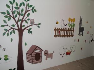 a takhle bude vypadat celá stěna