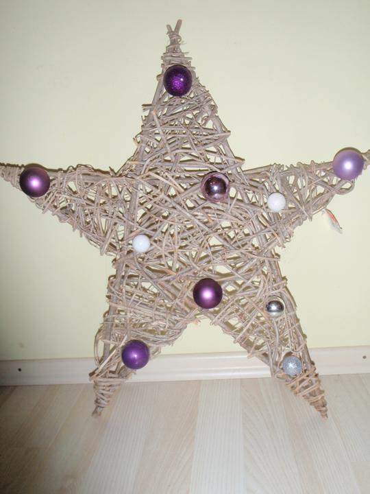 Vánoční:-) - Hvězdička na dveře