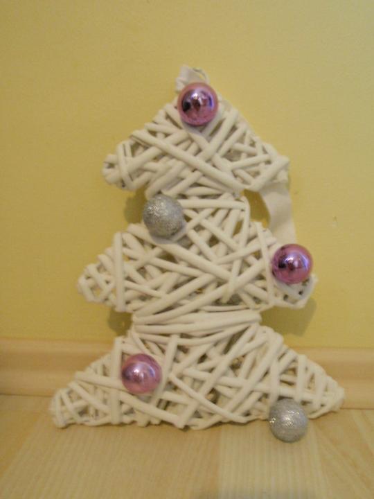 Vánoční:-) - Stromeček na zavěšení