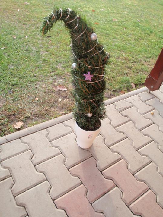 Vánoční:-) - Tak už mám taky svůj stromek:-)