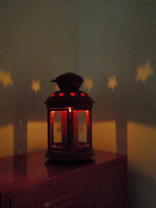 Vánoční:-) - a svítí:-)