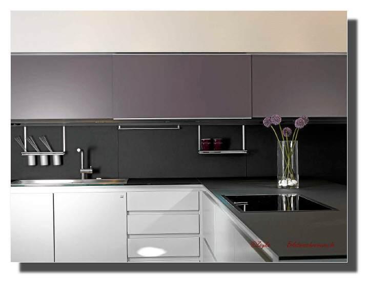 Moje představa o kuchyni - krásná kombinace barev:-)