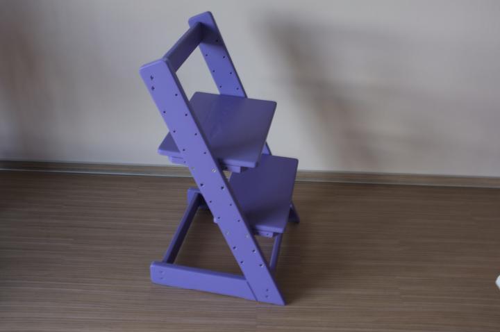 Moje představa o kuchyni - Staronová dětská židlička :-)