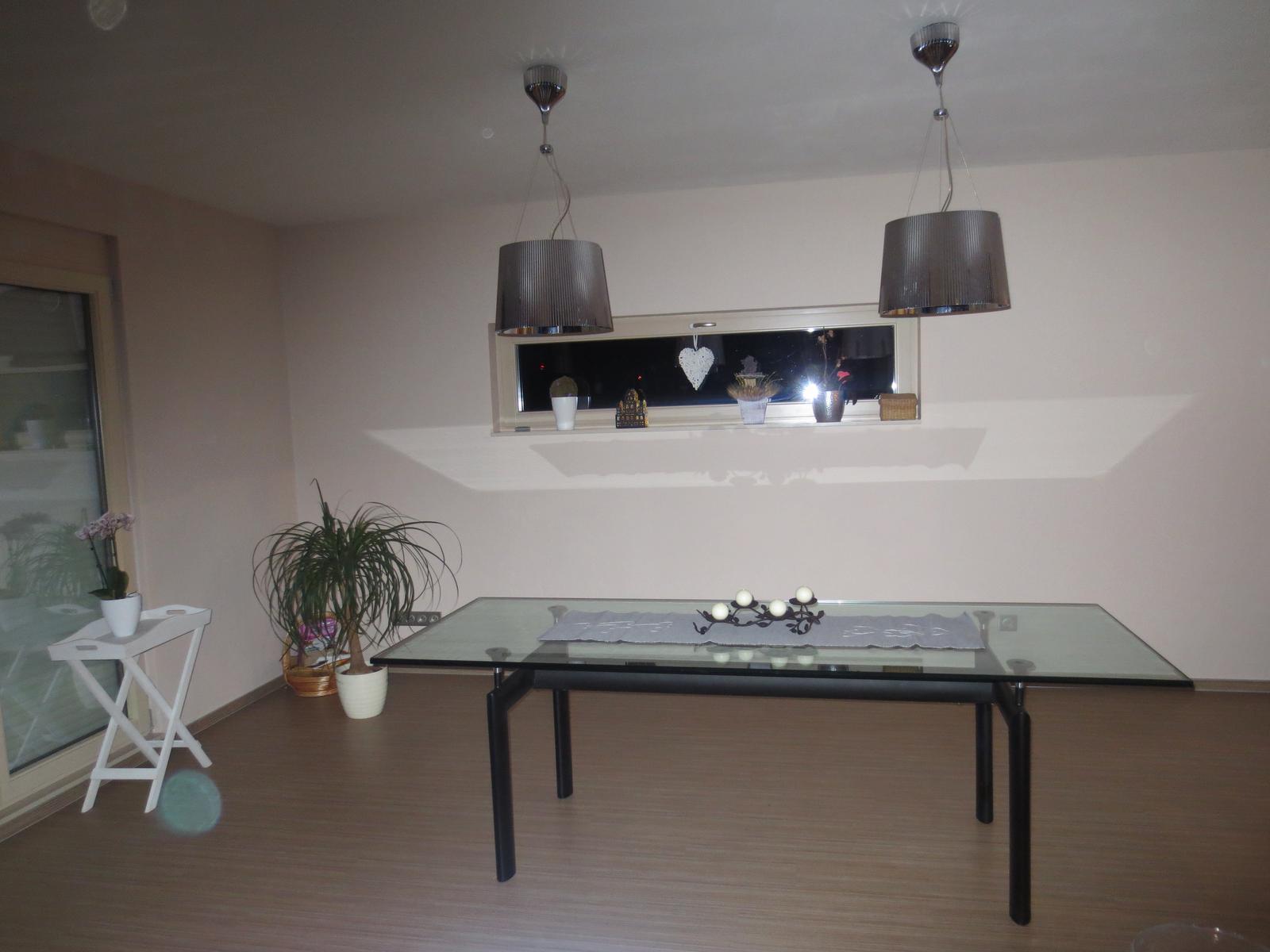 Moje představa o kuchyni - Stůl už je doma :-)