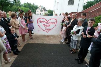 Srdíčko pro novomanžele