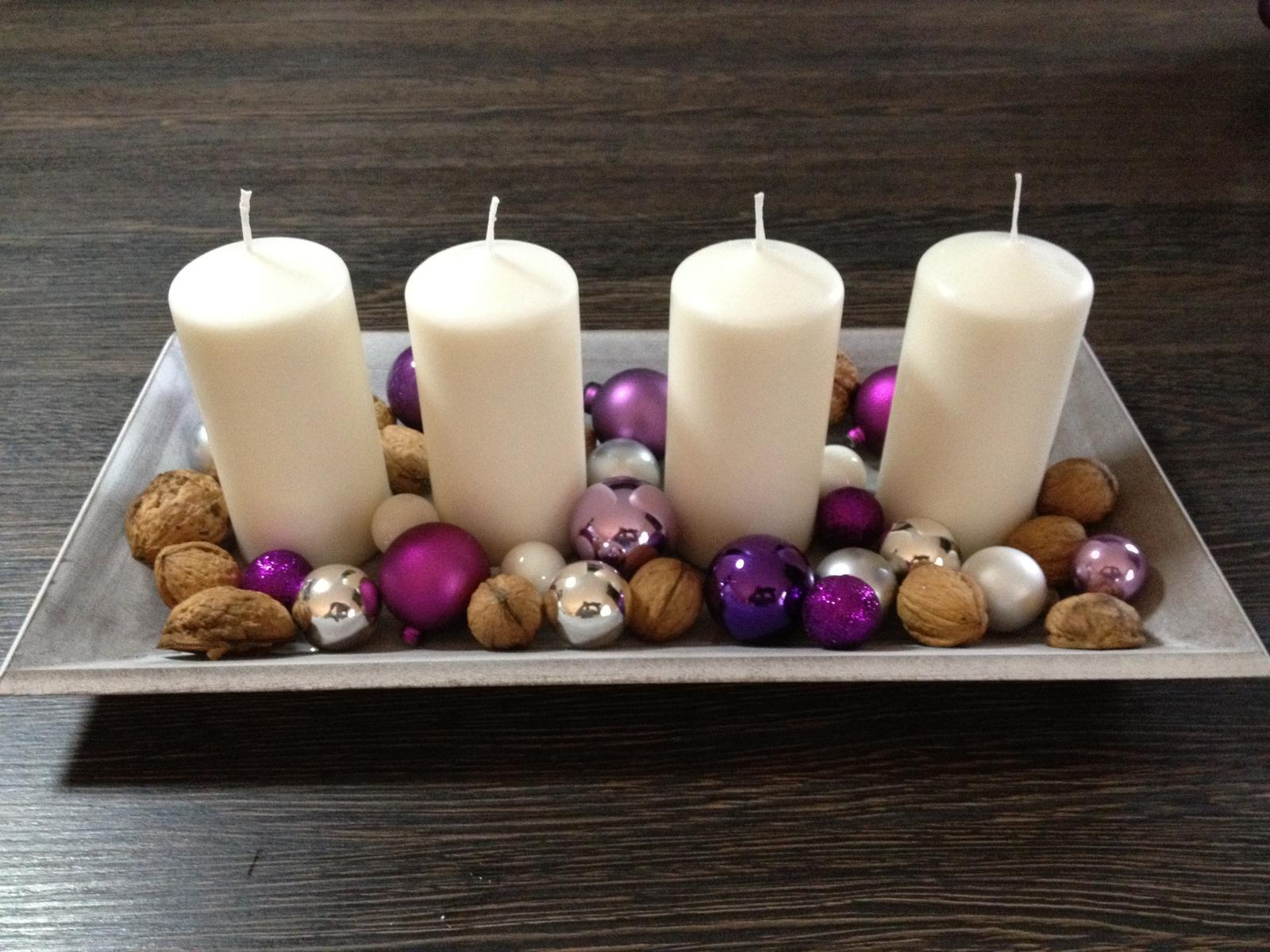 Vánoční:-) - Svícen na stůl