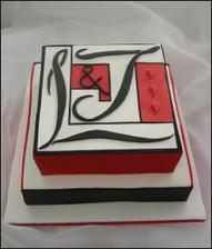 moderní dortíček