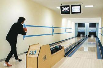 při špatném počasí je možnost bowlingu:)