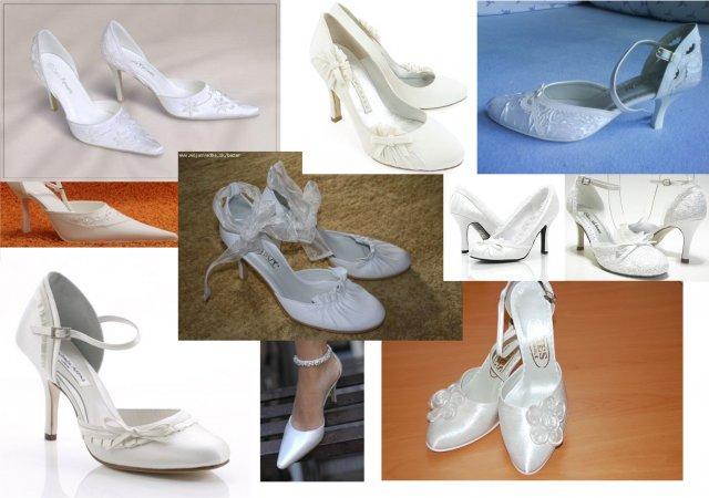 Čo sa do svadobného nevmestilo :) - predstava o topánkach