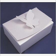 Krabička na koláčky střední,Z perleťového luxusního kartonu,10x7x4 cm,objednáno