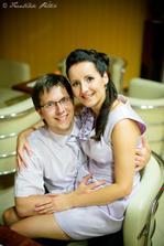 pán fotograf so svojou krásnou manželkou :)
