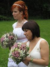 nevěsta s maminkou :)