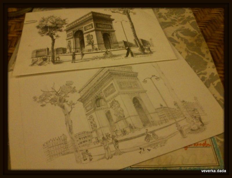 Kdo si hraje nezlobí :) - mamka pořád ať kreslim...tak kreslim...dárek pro ní k vánocům :-)