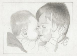 Kluci naší Marcelky :-) To je lásky!!