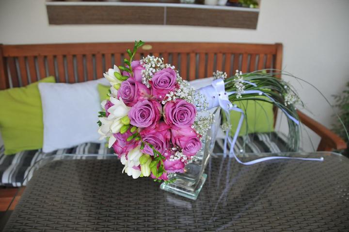 Svadobné kytice - Obrázok č. 13