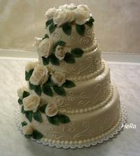 představa svatebního dortu č. 3