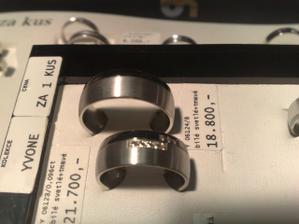 Vybrané prstýnky, velká radost :-)