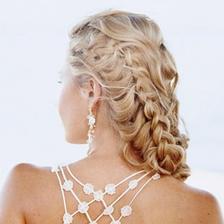Krásně zapletené vlasy