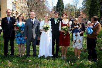 nejbližší rodina ženicha