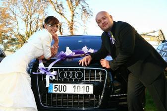 manželovo auto
