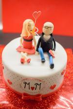 Naša Valentínska tortička, výborná :-)