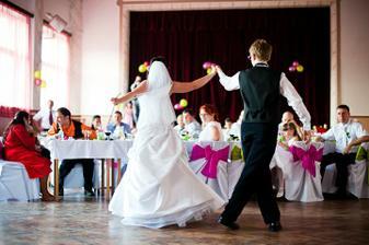Náš prvý tanec bol krásny