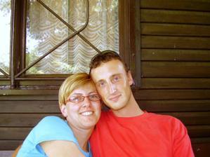 my dva -naše první společná fotka :-)