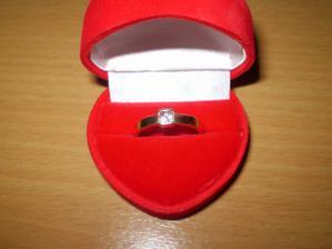 můj zásnubní :-) 24.12.2008