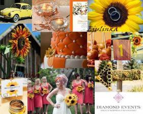 že by jsem svatbu předělala do oranžova??