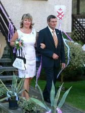 Maminka nevěsty s tatínkem ženicha