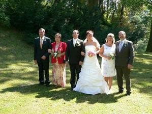 S rodiči novomanželů