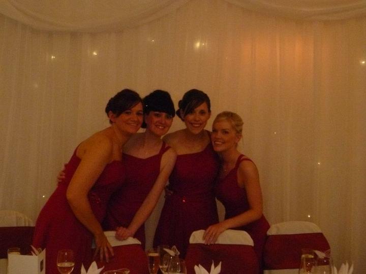 Kirsty Cameron{{_AND_}}Gordon Donald - My 4 beautiful bridesmaids